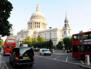 St Pauls Cathedral in Central London