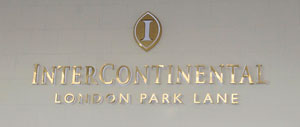 Intercontinental Hotel Plaque